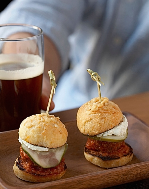 Locanda Verde's Lamb Meatball Sliders (photo courtesy of Locanda Verde)
