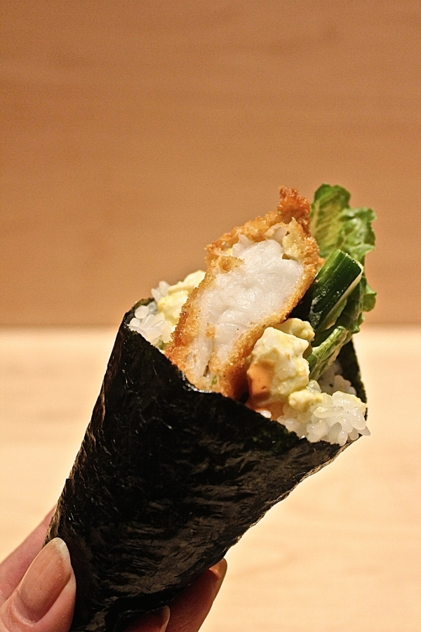 Megu's Temaki Handroll (photo courtesy of Megu)