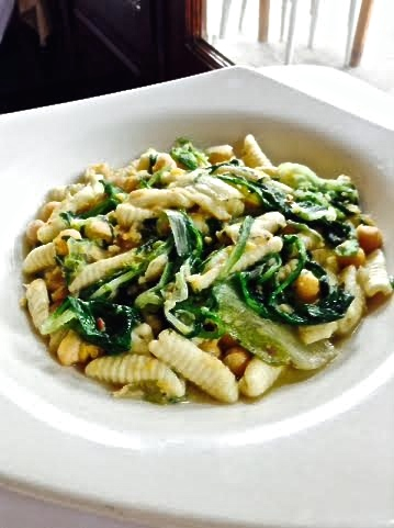 Gigino Trattoria's Cavatelli Legumi e Cicorie (photo courtesy of Gigino Trattoria)